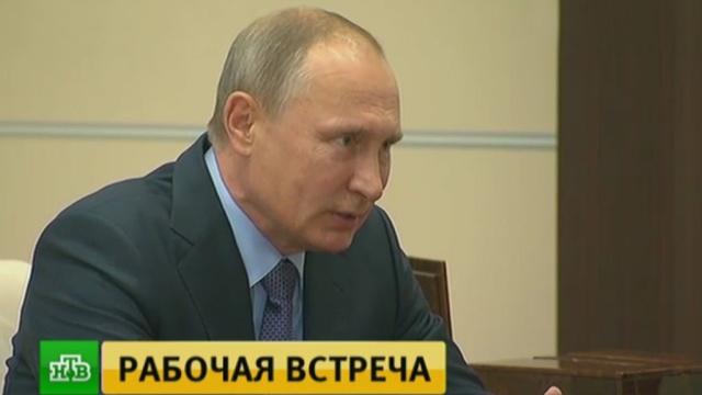 Медведев доложил Путину озаложенной вбюджет цене на нефть.Госдума, Медведев, Путин, бюджет РФ, нефть.НТВ.Ru: новости, видео, программы телеканала НТВ