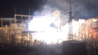 Центр Мурманска остался без света из-за короткого замыкания