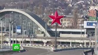 В Луганске неизвестные подорвали «Звезду Победы»