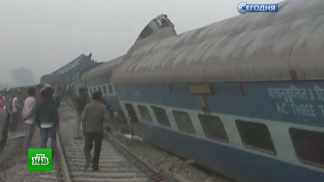 Число погибших при крушении поезда вИндии превысило 90.Индия, железные дороги, поезда.НТВ.Ru: новости, видео, программы телеканала НТВ