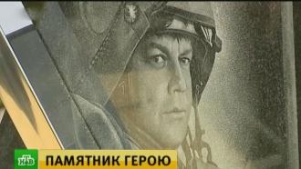 Памятник погибшему в Сирии летчику Пешкову открыли в Липецке