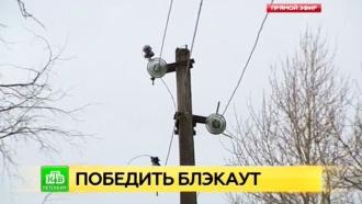 Энергетики возвращают свет в обесточенные поселки Ленобласти