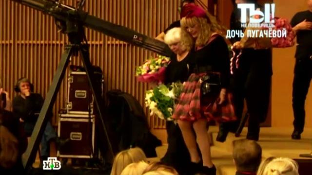 Короткое платье 67-летней Пугачёвой произвело фурор на шоу Орбакайте.Орбакайте, Пугачёва, знаменитости, шоу-бизнес, эксклюзив.НТВ.Ru: новости, видео, программы телеканала НТВ