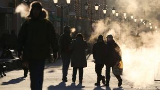 Спасатели предупреждают осильнейших морозах вМоскве