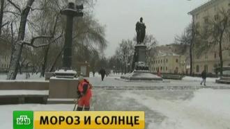Урал и Центральную Россию сковали рождественские морозы