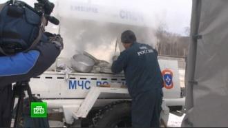 Влютые холода на полевых кухнях МЧС отогрелись 15тысяч человек
