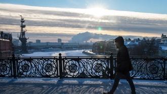 Морозы в центральной части России ослабевают