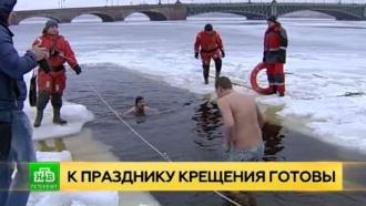 Петербург ожидает крещенская оттепель