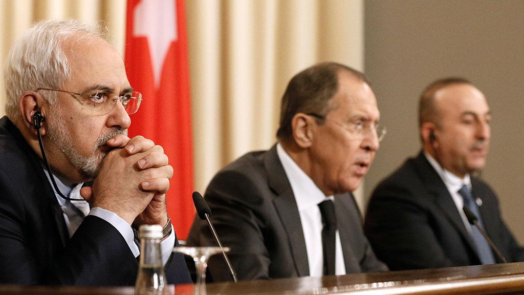 ВАстане прошли консультации российской иранской итурецкой делегаций