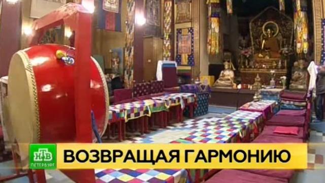 В петербургском дацане восстанавливают интерьеры келий и молельного зала.Санкт-Петербург, буддизм, памятники, реконструкция и реставрация.НТВ.Ru: новости, видео, программы телеканала НТВ