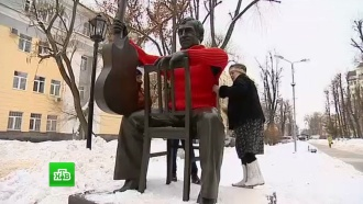 Жители Воронежа отметили 79лет со дня рождения Высоцкого «теплой» акцией
