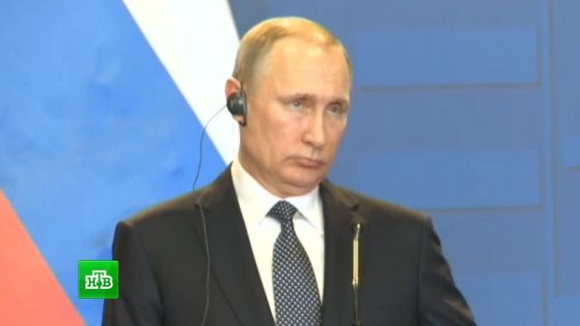 Путин договорился с Орбаном о крупных энергетических проектах.Венгрия, переговоры, Путин, Сирия, Украина, экономика и бизнес.НТВ.Ru: новости, видео, программы телеканала НТВ