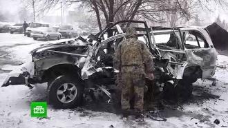 ВЛНР подтвердили гибель главы управления народной милиции при взрыве автомобиля