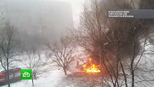 При взрыве Toyota в центре Луганска погиб только глава управления милиции.автомобили, взрывы, ЛНР, Луганск, Украина.НТВ.Ru: новости, видео, программы телеканала НТВ