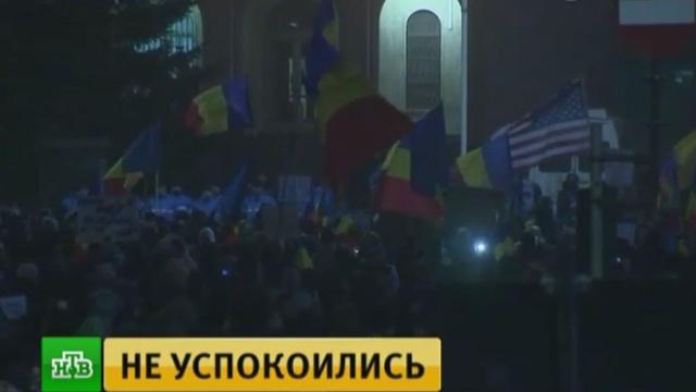 Около 400тысяч демонстрантов требуют отставки правительства Румынии.Румыния, митинги и протесты.НТВ.Ru: новости, видео, программы телеканала НТВ