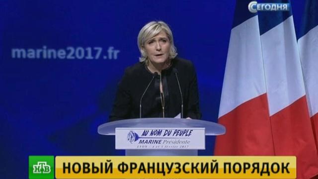 Нулевая толерантность: Марин Ле Пен обнародовала радикальную предвыборную программу.Европейский союз, Франция, беженцы, выборы, мигранты.НТВ.Ru: новости, видео, программы телеканала НТВ