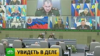 Шойгу сообщил овнезапной проверке боеготовности ВКС России
