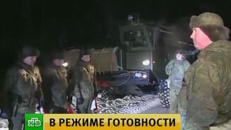 Боевая готовность: подразделения ПВО совершили марш-бросок и погрузили технику