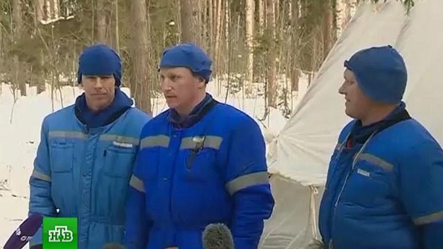 Космонавты проходят курс выживания вподмосковном лесу.Московская область, космонавтика, космос.НТВ.Ru: новости, видео, программы телеканала НТВ