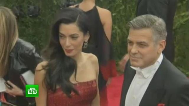 Двойная радость: Джордж Клуни и его жена подтвердили, что ждут близнецов.артисты, беременность и роды, Голливуд, дети и подростки, знаменитости, Клуни.НТВ.Ru: новости, видео, программы телеканала НТВ