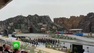 Оркестр Президентского полка РФ сыграл Smoke on the Water на выставке вооружений в<nobr>Абу-Даби</nobr>