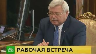 Путин подписал указ опрекращении полномочий томского губернатора Жвачкина
