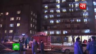 Пожар вобщежитии на востоке Москвы потушен, есть пострадавшие