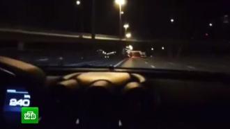 ГИБДД проверяет видео сгонками мажора на Ferrari по Москве