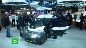 Airbus показал летающий автомобиль с пропеллерами