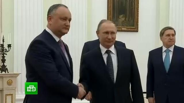 Президент Молдавии прибыл в Москву с инвестпредложениями.визиты, Молдавия, Путин, экономика и бизнес.НТВ.Ru: новости, видео, программы телеканала НТВ