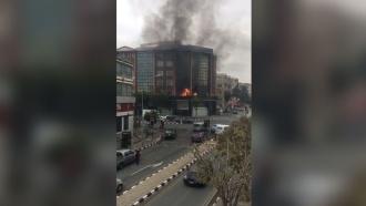 Взрыв прогремел в<nobr>бизнес-центре</nobr> на курорте Лимасол