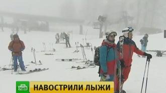 Горнолыжный сезон в Сочи завершился соревнованиями инструкторов
