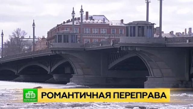 Благовещенский мост в Петербурге подготовили к навигации.Санкт-Петербург, мосты.НТВ.Ru: новости, видео, программы телеканала НТВ