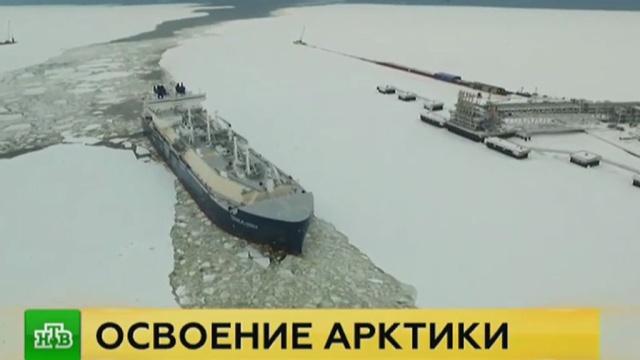 Первый танкер-газовоз для проекта «Ямал СПГ» впечатлил специалистов.Ямало-Ненецкий АО, газ, корабли и суда, промышленность.НТВ.Ru: новости, видео, программы телеканала НТВ