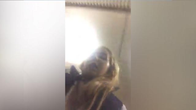Пассажирка электрички включила камеру за секунды до столкновения споездом.железные дороги, Москва, МЧС, поезда.НТВ.Ru: новости, видео, программы телеканала НТВ