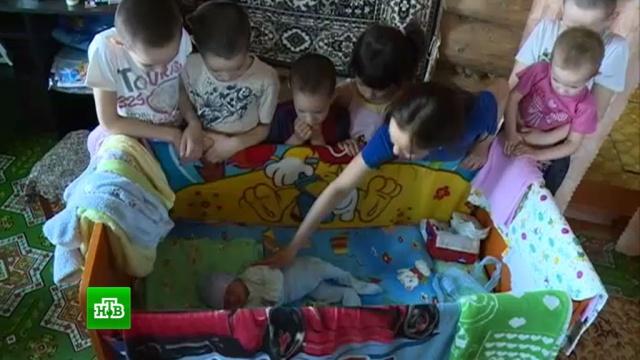 Многодетная семья из Уфы рискует оказаться на улице.Уфа, дети и подростки, жилье, многодетные.НТВ.Ru: новости, видео, программы телеканала НТВ