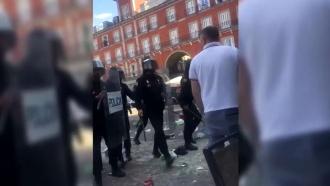 Британские фанаты устроили беспорядки в Мадриде