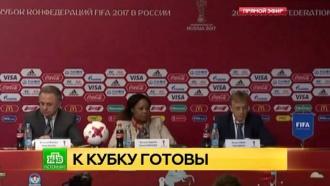 Процесс идет: FIFA высоко оценила подготовку Петербурга кКубку конфедераций