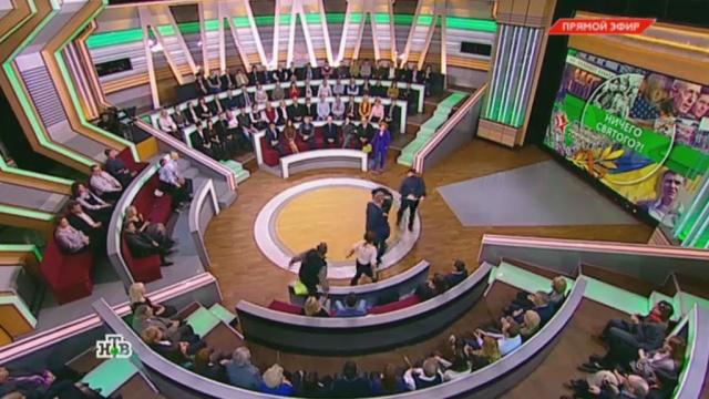 Встудии НТВ произошла массовая драка.драки и избиения, НТВ, телевидение.НТВ.Ru: новости, видео, программы телеканала НТВ