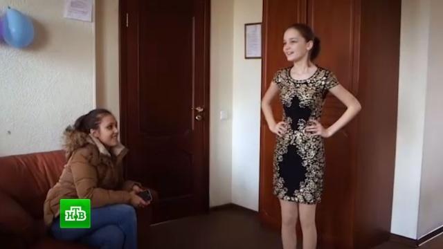 Певица Слава преподнесла участнице «Ты супер!» необыкновенное платье.НТВ.Ru: новости, видео, программы телеканала НТВ