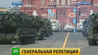 Генеральная репетиция парада Победы впечатлила собравшихся на Красной площади зрителей ижурналистов