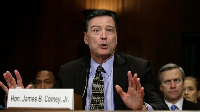 Глава ФБР США воспринял новость освоем увольнении как розыгрыш.Вашингтон, США, Сноуден, Трамп Дональд, ФБР, назначения и отставки.НТВ.Ru: новости, видео, программы телеканала НТВ
