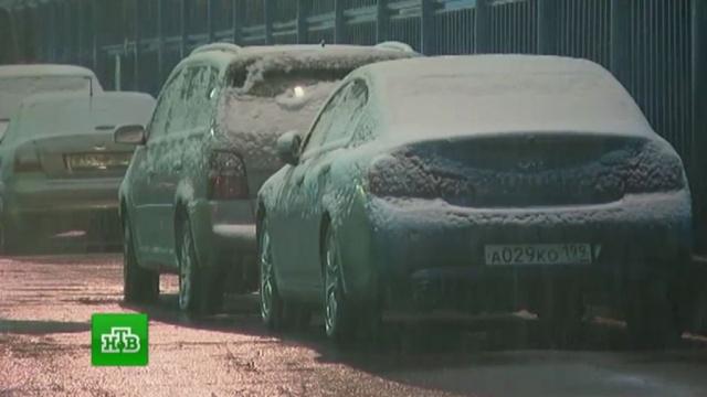Десятки рейсов отменены изадержаны вМоскве из-за непогоды.Москва, аэропорты, весна, погода, снег.НТВ.Ru: новости, видео, программы телеканала НТВ
