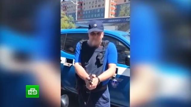 В «Спецсвязи» прокомментировали вооруженные разборки фельдъегерей на дороге.Владивосток, автомобили, оружие.НТВ.Ru: новости, видео, программы телеканала НТВ