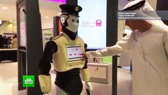 ВДубае приступил кработе первый вмире <nobr>робот-полицейский</nobr>