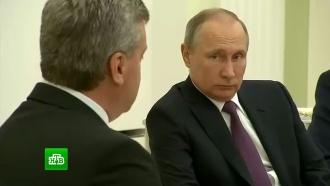 Путин пожелал президенту Македонии успехов в урегулировании политического кризиса