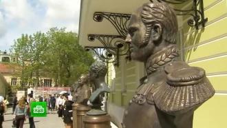 Мединский иВасильева открыли Аллею правителей вцентре Москвы