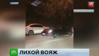 Полиция ищет лихача, устроившего опасные заезды в Москве и Махачкале
