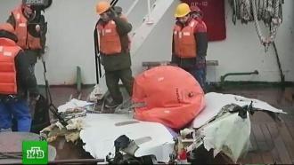 Минобороны подвело итоги расследования крушения <nobr>Ту-154</nobr> под Сочи