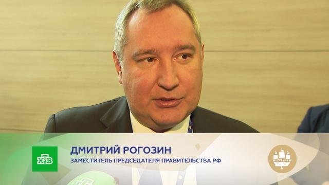 Дмитрий Рогозин: Россия под санкциями справилась сзадачами, которые все считали невыполнимыми.ВПК, интервью, Рогозин, эксклюзив, МС-21.НТВ.Ru: новости, видео, программы телеканала НТВ
